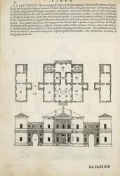 Andrea Palladio; Villa Pisani at Montagnana (fig. 52); c.1570; 28.58 x 20.00 cm; Elizabeth Barlow Rogers Collection (New York, NY)