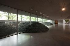Andy Goldsworthy; Roof; 2004-5; slate; nine domes, each 5 feet high, 27 feet in diameter; National Gallery of Art (US)