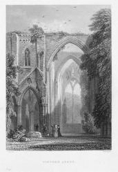 Thomas Roscoe; Wanderings and Excursions in South Wales, Tintern Abbey; 1854