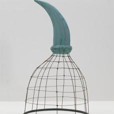 Martin Puryear; Seer; 1984; water-based paint on wood and wire; 198.1 x 129.5 x 114.3 cm; Solomon R. Guggenheim Museum