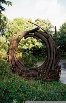 Andy Goldsworthy; Entrance (detail of one element); 1986; 15 feet high