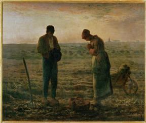 Jean-François Millet; The Angelus; 1857-9; oil on canvas; Musée d'Orsay