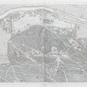 Jean Charles Adolphe Alphand; Bois de Boulogne - Etat Actuel; 1867-73