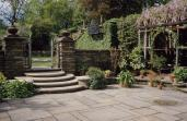 Beatrix Jones Farrand; Dumbarton Oaks, Herb Terrace