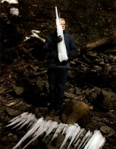 Alec Soth; USA, Ithaca, New York, Artist Andy Goldsworthy; 2004