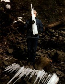 Alec Soth; USA, Ithaca, New York, Artist Andy Goldsworthy; 2004