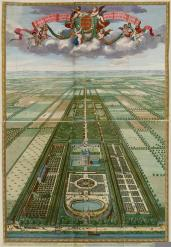 Daniel Stopendael; Plan or view of Heemstede in the province of Utrecht; etching; c.1685-1702; Elizabeth Barlow Rogers Collection (New York, NY)