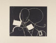 Martin Puryear; Carma, from the Cane portfolio; 2000; woodcut and handmade Japanese paper; Princeton University Art Museum