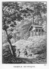 J. Merigot; Temple rustique; 1788