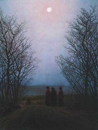 Caspar David Friedrich; Easter Morning; 1830-5; oil on canvas