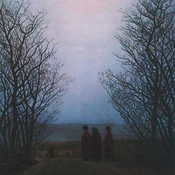 Caspar David Friedrich; Easter Morning; 1830-5; oil on canvas