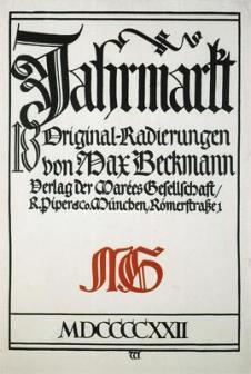 Beckmann_Jahrmarkt_1922