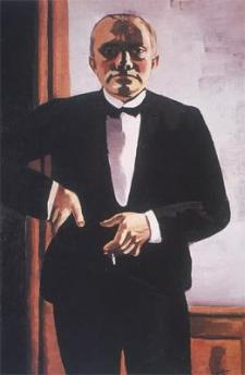 Beckmann_SelfPortraitTuxedo_1927
