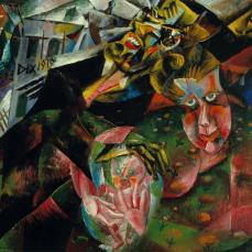 Otto Dix; The Felixmüller Family; 1919; oil on canvas; 75.9 x 91.4 cm; Saint Louis Art Museum
