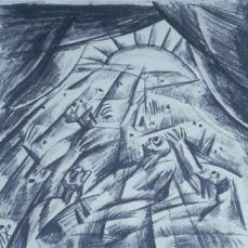 Otto Dix; Finale (Wounded in the Evening); 1917; Staatliche Kunstsammlungen Dresden