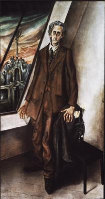 Otto Dix; Portrait of Ivar von Lucken; 1926; pencil; 31 x 26 cm