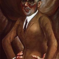 Otto Dix; Portrait of Karl Krall; 1923; 90 x 60 cm