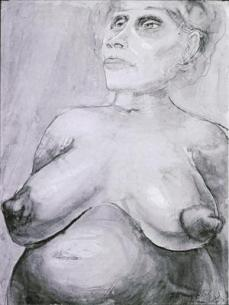 Otto Dix; Nude with Large Breasts; 1925; watercolor