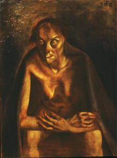 Otto Dix; Old Woman