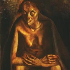 Otto Dix; Old Woman