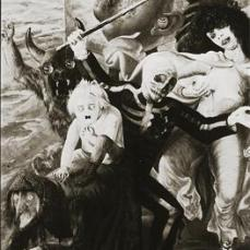 Otto Dix; Seven Deadly Sins; 1933; mixed media, wood; 179 x 120 cm