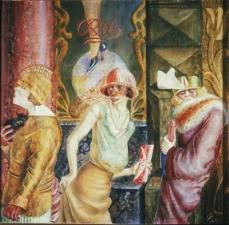 Otto Dix; Three Prostitutes; 1925; tempera; 95 x 110 cm