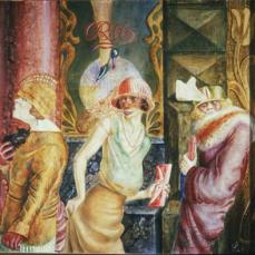 Otto Dix; Three Prostitutes; 1925; tempera; 95 x 110 cm