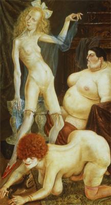 Otto Dix; Three Women; 1926; 181 x 101 cm