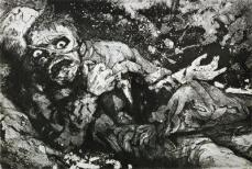 Otto Dix; Wounded: The War; 1916; etching and aquatint; Museum of Modern Art