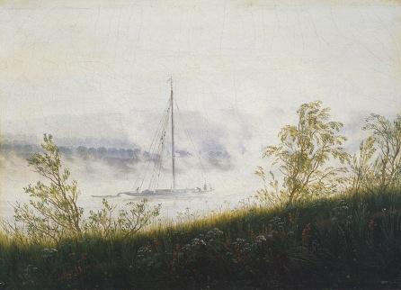 Friedrich_Caspar_David_Ship_on_the_Elbe_in_the_Early_Morning_Fog_1821