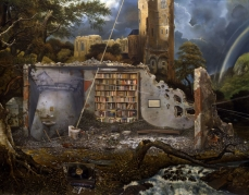 Ged Quinn; Here is Not the Place for Nostalgia; 2007; oil on canvas; 183 x 329 cm