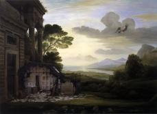 Ged Quinn; The Fall; 2006; oil on linen; 183 x 250 cm