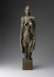 Alberto Giacometti; Annette; 1953; bronze; 58.4 x 15 x 11 cm; Museum of Fine Arts, Boston