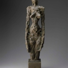Alberto Giacometti; Annette; 1953; bronze; 58.4 x 15 x 11 cm; Museum of Fine Arts, Boston