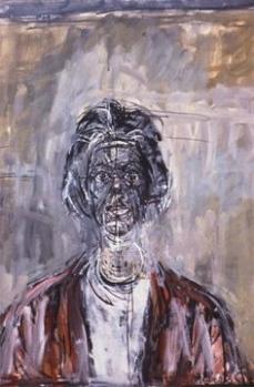Alberto Giacometti; Annette; 1961; oil on canvas