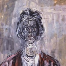 Alberto Giacometti; Annette; 1961; oil on canvas