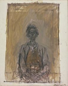 Alberto Giacometti; Annette; 1962; oil on canvas; 92.3 x 73.2 cm; The Museum of Modern Art