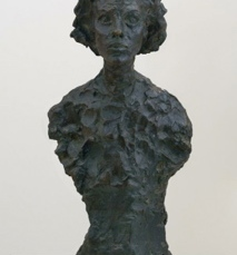 Alberto Giacometti; Bust of Annette; 1962; bronze; 59.06 x 25.4 x 19.05 cm; San Francisco Museum of Modern Art