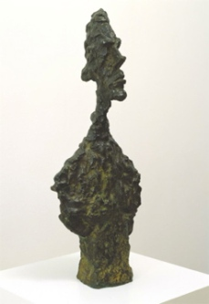 Alberto Giacometti; Bust of Diego; 1957; bronze; 62.23 x 25.4 x 16.51 cm; San Francisco Museum of Modern Art