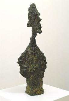 Alberto Giacometti; Bust of Diego; 1957; bronze; 62.23 x 25.4 x 16.51 cm; San Francisco Museum of Modern Art