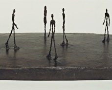 Alberto Giacometti; City Square; 1948; bronze; 21.6 x 64.5 x 43.8 cm; The Museum of Modern Art