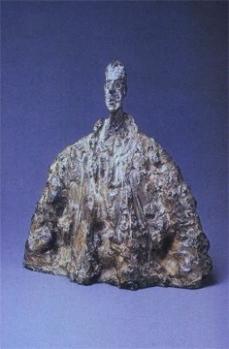 Alberto Giacometti; Diego in a Cloak; 1954