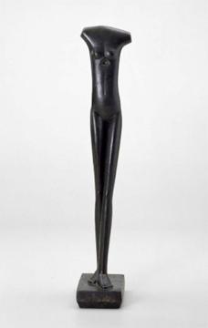 Alberto Giacometti; Femme qui marche; 1933-34; metal, bronze; 151 x 11.25 x 38.1 cm; Museum of Fine Arts, Boston