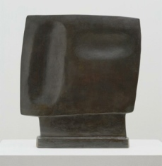 Alberto Giacometti; Gazing Head; 1928-29; bronze; 39.3 x 36.8 x 6.3 cm; The Museum of Modern Art