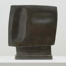 Alberto Giacometti; Gazing Head; 1928-29; bronze; 39.3 x 36.8 x 6.3 cm; The Museum of Modern Art