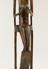 Alberto Giacometti; Hands Holding the Void (Invisible Object); 1934; 152.1 x 32.6 x 25.3 cm; The Museum of Modern Art