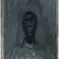 Alberto Giacometti; Head of Diego; 1961; oil on canvas; 45.1 x 35 cm; Museum of Fine Arts, Boston