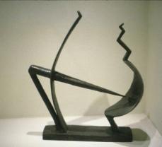 Alberto Giacometti; Male and Female (The Couple); 1928-9; bronze