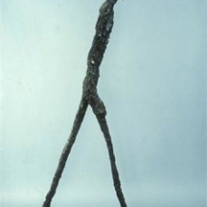 Alberto Giacometti; Man Walking; 1960; bronze; Albright-Knox Art Gallery