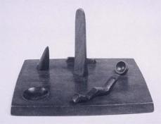 Alberto Giacometti; Model for a Public Square; 1931-2; Peggy Guggenheim Collection
